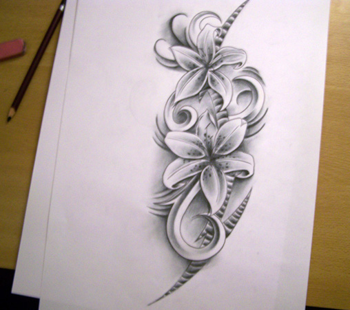 Flower Galery Tattoo Design Tattoo Drawing Ideas For Men And Woman